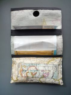 """handmade tobacco pouch   """"travelinmind"""""""