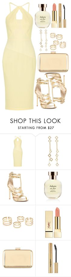 """""""Untitled #4649"""" by natalyasidunova ❤ liked on Polyvore featuring Roland Mouret, Arme De L'Amour, Chinese Laundry, Arquiste Parfumeur, PUR, Atmos&Here and Napoleon Perdis"""