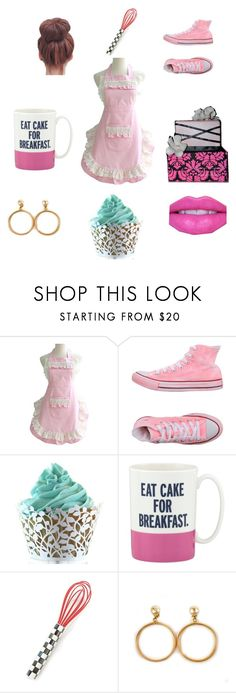 """""""Cake Time!"""" by nm17853 on Polyvore featuring beauty, Converse, Kate Spade, MacKenzie-Childs and Chanel"""