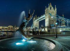 Tower Bridge Dolphin #hdr