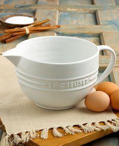 Le Creuset Enameled Stoneware Batter Bowl