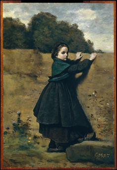 Camille Corot | The Curious Little Girl | The Met