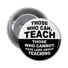 Those Who Can, Teach Pins
