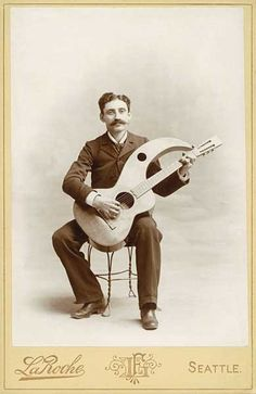 Harp Guitarist 1