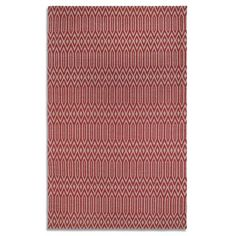 Debenhams Red wool 'Serengeti' rug | Debenhams