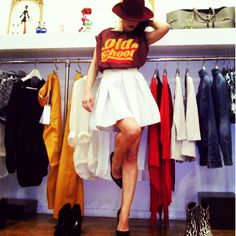 Springsummer 2014 SoAllure Collection - Skirt & Tshirt Old School - www.soallure.it @SoAllure @Mary Powers Trovato