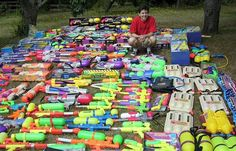 pistolas de agua Chris REID 340 Super Soaker