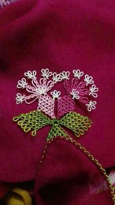 This Pin was discovered by Ays Needle Tatting, Needle Lace, Bobbin Lace, Viking Tattoo Design, Viking Tattoos, Hairpin Lace, Lacemaking, Sunflower Tattoo Design, Origami Flowers