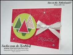 Stampin' Sacha | Stampin' Up! | Autumn/Winter Catalogue 2017 | Christmas Quilt | Quilt Builder Framelits | Quilted Christmas DSP | Christmas Card