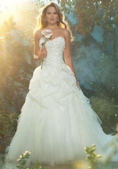 #Disney Fairy Tale #Weddings by Alfred Angelo wedding dress