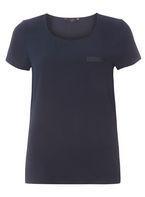 Womens **Vero Moda Navy Pocket Detail Blouse- Navy