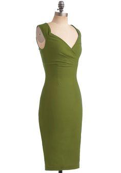 Lady Love Song Dress in Fern | Mod Retro Vintage Dresses | ModCloth.com