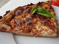 IG bas et gourmand en cuisine! DIAB & BON & GOURMAND !: PLAT UNIQUE tarte tomate et thon