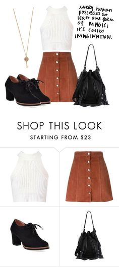 """""""Outfit #109"""" by catytomlinson95 ❤ liked on Polyvore featuring Glamorous, Theory, Loeffler Randall and Aéropostale"""