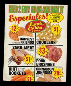 Apple Cabin Foods is having a sale! #funny