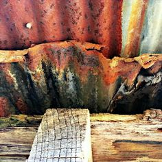 Rust and Wood: Lisa Garrison