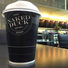 #coffee #sydney #sydneycoffeeculture #skimlatte #takeawaycoffee #morning #caffeinefix #ilovecoffee  #coffeetime #coffeeaddict #coffeelover #coffeecoffeecoffee #coffeeholic #barista #coffeeculture #coffeesnob #loveit #city #seidler #sydneycbd In one of the most beautiful atriums you'll ever experience in this lovely Harry Seidler building you'll find the Naked Duck cafe. Admittedly I didn't spot a single naked duck but did enjoy the coffee at this popular cafe by ilovesydneycoffee