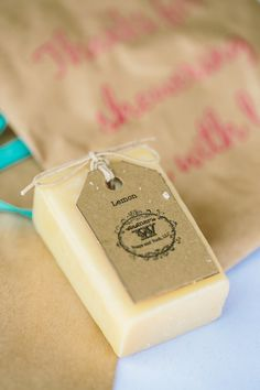 Brooke & Jason  Photo By Emily Weis Photography  Amazing soap favors purchased from Wagners soaps n such. Loved them!