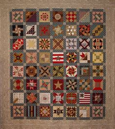 Karen Mowery's version of Brackman's Civil War blocks