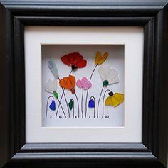 Sea Glass Flower Garden Cornish Art from Sea Glass & Stone https://www.amazon.co.uk/dp/B01H63VG9C/ref=cm_sw_r_pi_dp_iVfzxbFD73M71