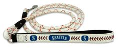 Seattle Mariners Baseball Leather Leash - L