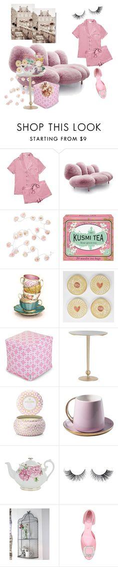 """Sunday.....tea time!!!!"" by mi-bi-mimi ❤ liked on Polyvore featuring interior, interiors, interior design, home, home decor, interior decorating, Talking Tables, Kusmi Tea, Dot & Bo and Voluspa"