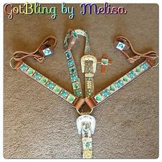 Pink Bling Horse Tack | Details about New Custom Made Bling Belt Style Horse Tack Set