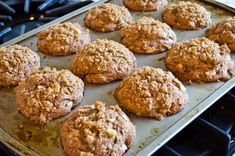 Tender and wholesome apple muffins with a hint of autumn spice.From Jenn Segal at Once Upon a Chef