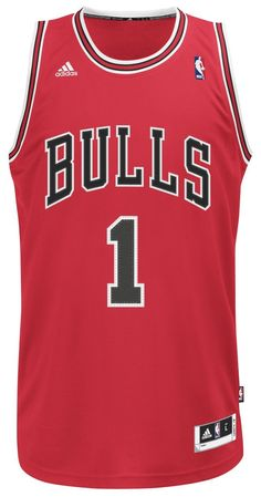Amazon.com   NBA Men s Chicago Bulls Derrick Rose Revolution 30 Road  Swingman Jersey H Size (Red c02f947b4