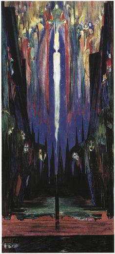 "Harry Clarke ~ illustration for Oscar Wilde's letter ""De Profundis"" - 50 Watts"