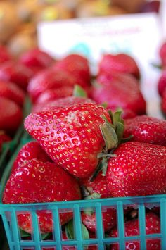 fresh ripe yummy strawberries
