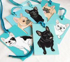 French Bulldog tags
