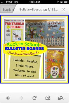 Back to School Bulletin Boards and Decorated Doors at RainbowsWithinReach Back to School Ideas School Classroom, Classroom Themes, Classroom Organization, Classroom Design, Future Classroom, Toddler Classroom, Classroom Projects, Classroom Resources, Back To School Bulletin Boards