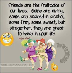 Friends Are The Fruitcake Of Our Lives quotes quote friends best friends bff friendship quotes funny quotes funny sayings true friends humor – Quotation Mark Best Friend Poems, Special Friend Quotes, Best Friend Quotes Funny, Funny Quotes About Life, Life Quotes, Funny Sayings, Best Friend Humor, Attitude, Good Morning Funny