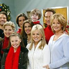 Days of Our Lives cast from several years ago.