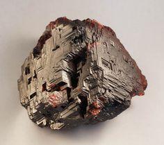 Spessartine Garnet- a nesosilicate, manganese aluminium garnet species, Mn2+3Al2(SiO4)3. from Minas Gerias, Brazil.