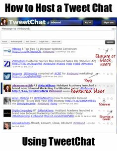 Tweetchat Hosting in Ten Easy Steps | Scalable Social Media -  via @scalablesocial
