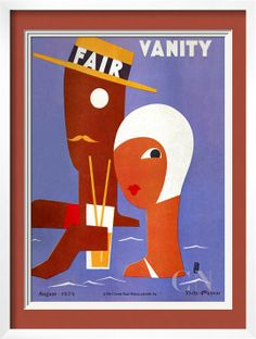 Vanity Fair Cover - August 1929 Poster Print by Eduardo Garcia Benito at the Condé Nast Collection
