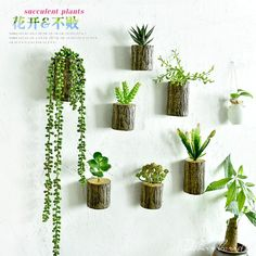 The 55 best Wall Decor With Plants Artificial Plant Wall, Artificial Flowers, Flower Wall, Flower Pots, Indoor Plant Wall, Tree Stump, 3d Wall, Wall Art, Tree Wall