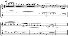 Learn an Allan Holdsworth style legato lick with this #jazzguitar lesson. http://www.guitarandmusicinstitute.com