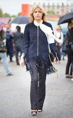 Milan FW Street Style. Telegraph