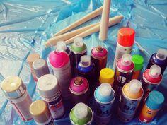 Escogemos los colores con los que queremos pintar las patas