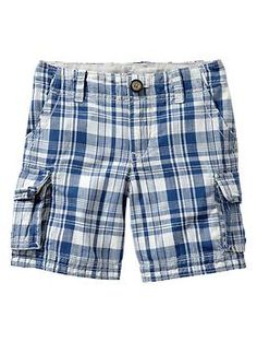 $12.99 plus another 30% off today. I got lucky with 40% off two days ago. Got these for $8! Shorts for next summer! Super CUTE! Plaid shorts from Gap. Fun kiddo shopping.