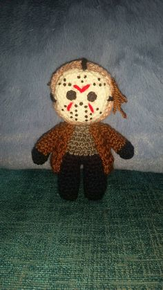 Check out this item in my Etsy shop https://www.etsy.com/uk/listing/275797740/crochet-doll-jason-voorhees-friday-13th