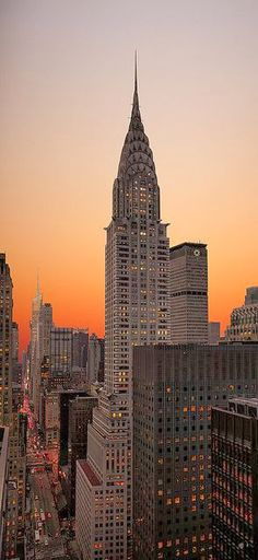 Chrysler Building, Manhattan, New York.