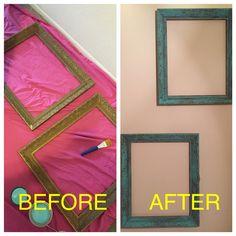 Old refurbished frames
