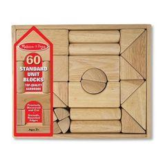 Melissa and Doug Standard Units Blocks - 60 pc. Set Image