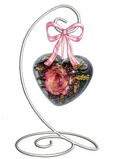 Make a lasting impression and give your sweetheart a flower that will stay beautiful for years to come!