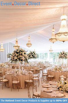 Wedding Set Up, Tent Wedding, Chic Wedding, Elegant Wedding, Wedding Table, Floral Wedding, Wedding Colors, Wedding Flowers, Wedding Reception