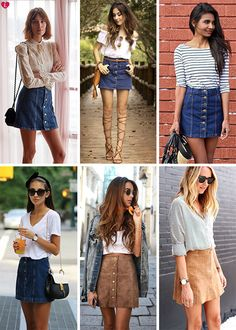 College Outfits, Outfits For Teens, Trendy Outfits, Dope Fashion, Skirt Fashion, Fashion Outfits, Jean Skirt Outfits, Really Cute Outfits, Hippie Outfits